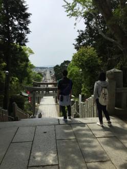 校外学習で宮地嶽神社へ