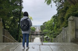 福間海岸・宮地嶽神社8キロウォーキング